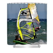 Windsurfing Shower Curtain