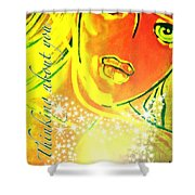 Pikotine Art Shower Curtain