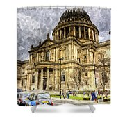 St Paul's Cathedral London Shower Curtain