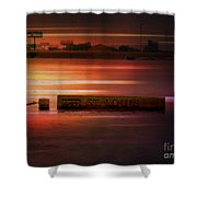 37 Feet Past Flood Stage 2 Shower Curtain