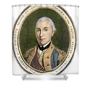 Marquis De Lafayette Shower Curtain