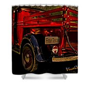 37 Ranch Truck Shower Curtain
