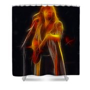 38 Special-94-don-ge17a-fractal Shower Curtain