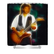38 Special-94-jeff-gc19-fractal Shower Curtain