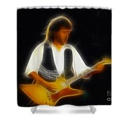 38 Special-94-jeff-gc25-fractal Shower Curtain