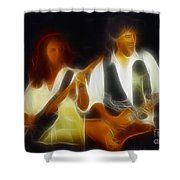 38 Special-94-jeffndanny-gc1a-fractal Shower Curtain