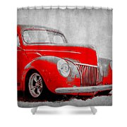 39 Ford Shower Curtain