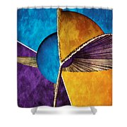3d Abstract 23 Shower Curtain