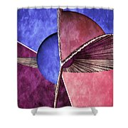 3d Abstract 24 Shower Curtain