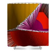 3d Abstract 5 Shower Curtain by Angelina Vick