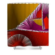 3d Abstract 6 Shower Curtain