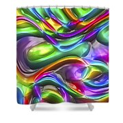 Abstract Series 38 Shower Curtain