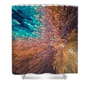 3d Art Shower Curtain