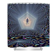 3d Concept Of How Mankind Will Use Shower Curtain