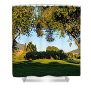 3rd Green At Quilchena  Shower Curtain