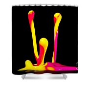 3's Company Shower Curtain