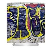 3t Graffiti Shower Curtain