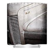 1940 Nash Sedan Grille Shower Curtain
