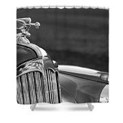 1942 Packard Darrin Convertible Victoria Hood Ornament Shower Curtain