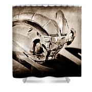 1952 Dodge Ram Hood Ornament Shower Curtain