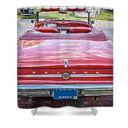 1963 Ford Falcon Sprint Convertible  Shower Curtain
