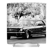 1965 Shelby Prototype Ford Mustang  Shower Curtain