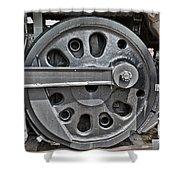4-8-8-4 Wheel Arrangement Shower Curtain