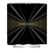 Abstract 100 Shower Curtain