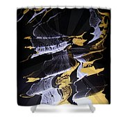 Abstract 31 Shower Curtain