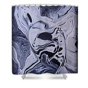 Abstract 56 Shower Curtain