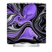 Abstract 57 Shower Curtain