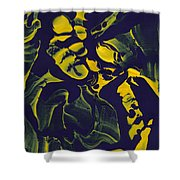 Abstract 62 Shower Curtain by J D Owen