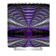 Abstract 75 Shower Curtain