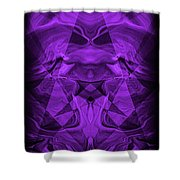 Abstract 93 Shower Curtain
