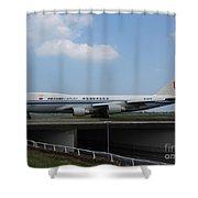 Air China Cargo Boeing 747 Shower Curtain