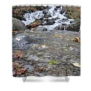 Alaskan Waterfall Shower Curtain