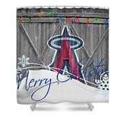 Anaheim Angels Shower Curtain