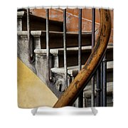 Ancient Staircase Shower Curtain