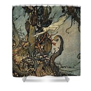 Andersen: Little Mermaid Shower Curtain