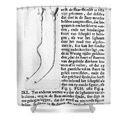 Anton Van Leeuwenhoek Shower Curtain