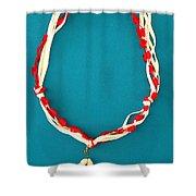 Aphrodite Genetyllis Necklace Shower Curtain