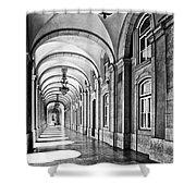Arcades Of Lisbon Shower Curtain