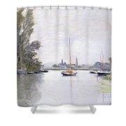 Argenteuil Shower Curtain by Claude Monet