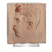 Arnold Bennett (1867-1931) Shower Curtain