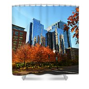Autumn In Boston Shower Curtain