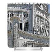 Bahai Temple Wilmette Shower Curtain