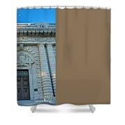Bancroft Hall Shower Curtain