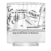 Battle Of Monmouth, 1778 Shower Curtain