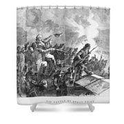Battle Of Stony Point, 1779 Shower Curtain