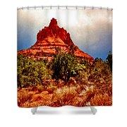 Bell Rock Vortex Painting Shower Curtain